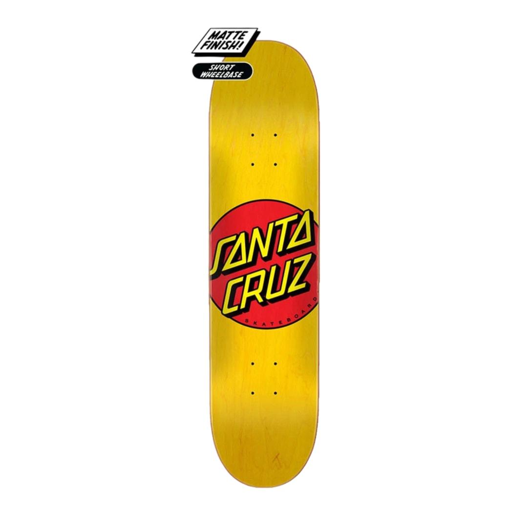"Santa Cruz Classic Dot 7.75"" Deck | Deck by Santa Cruz Skateboards 1"