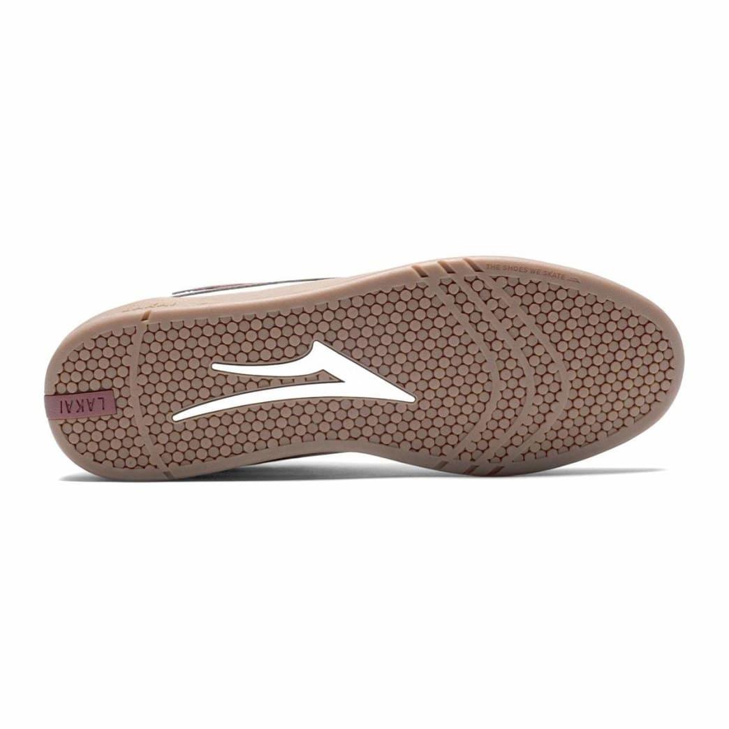 Lakai Manchester XLK Leather Skate Shoe - White / Gum | Shoes by Lakai 4