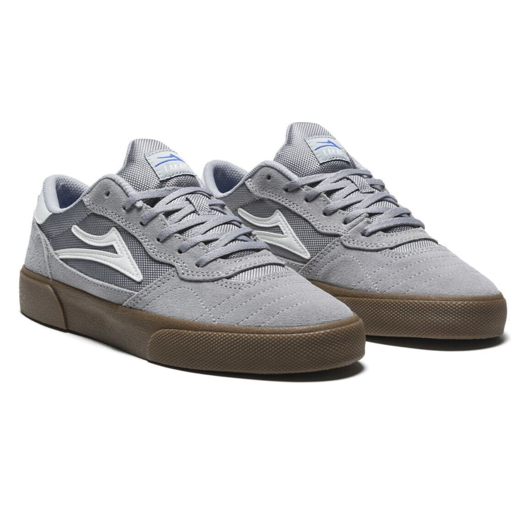 Lakai Cambridge Suede Skate Shoes - Light Grey / Gum | Shoes by Lakai 2