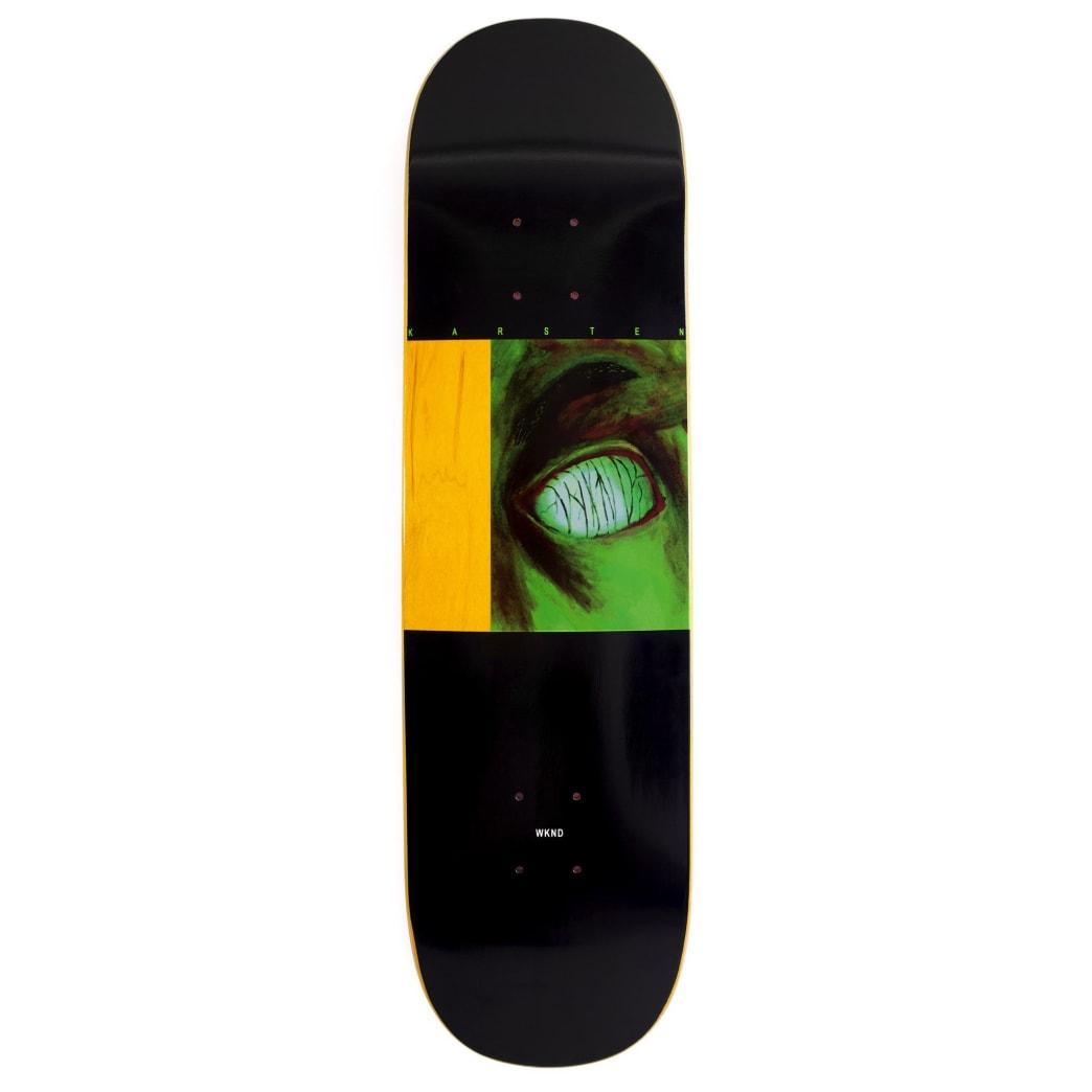 "WKND Karsten Kleppan Body Parts Skateboard Deck - 8.18"" | Deck by WKND 1"