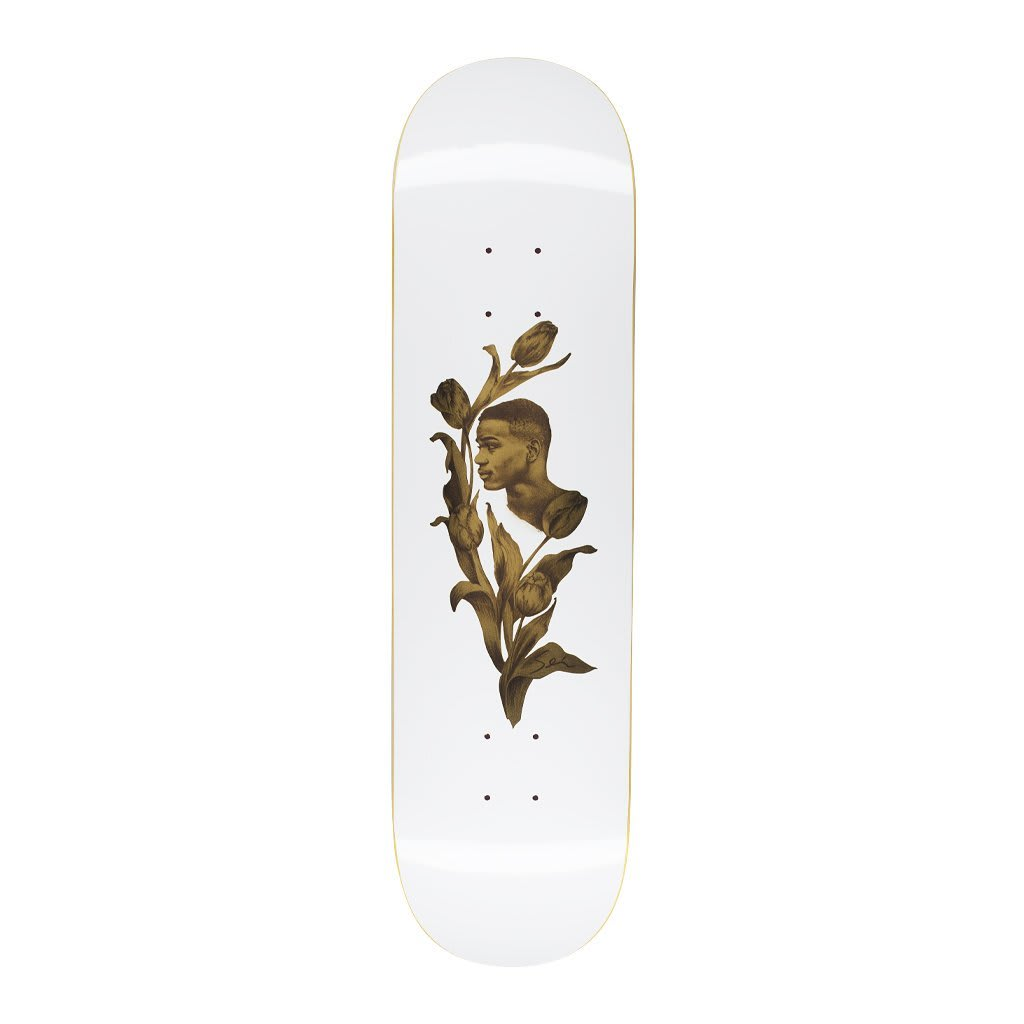 Fucking Awesome Tyshawn Jones Flowers Skateboard Deck - 8.25"