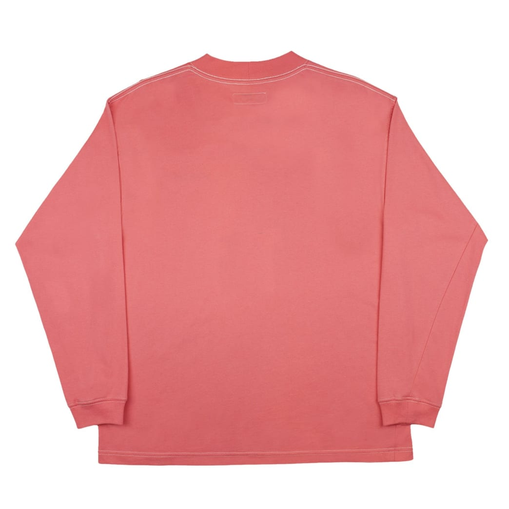 Yardsale Script Polo Long Sleeve - Pink | Longsleeve by Yardsale 4