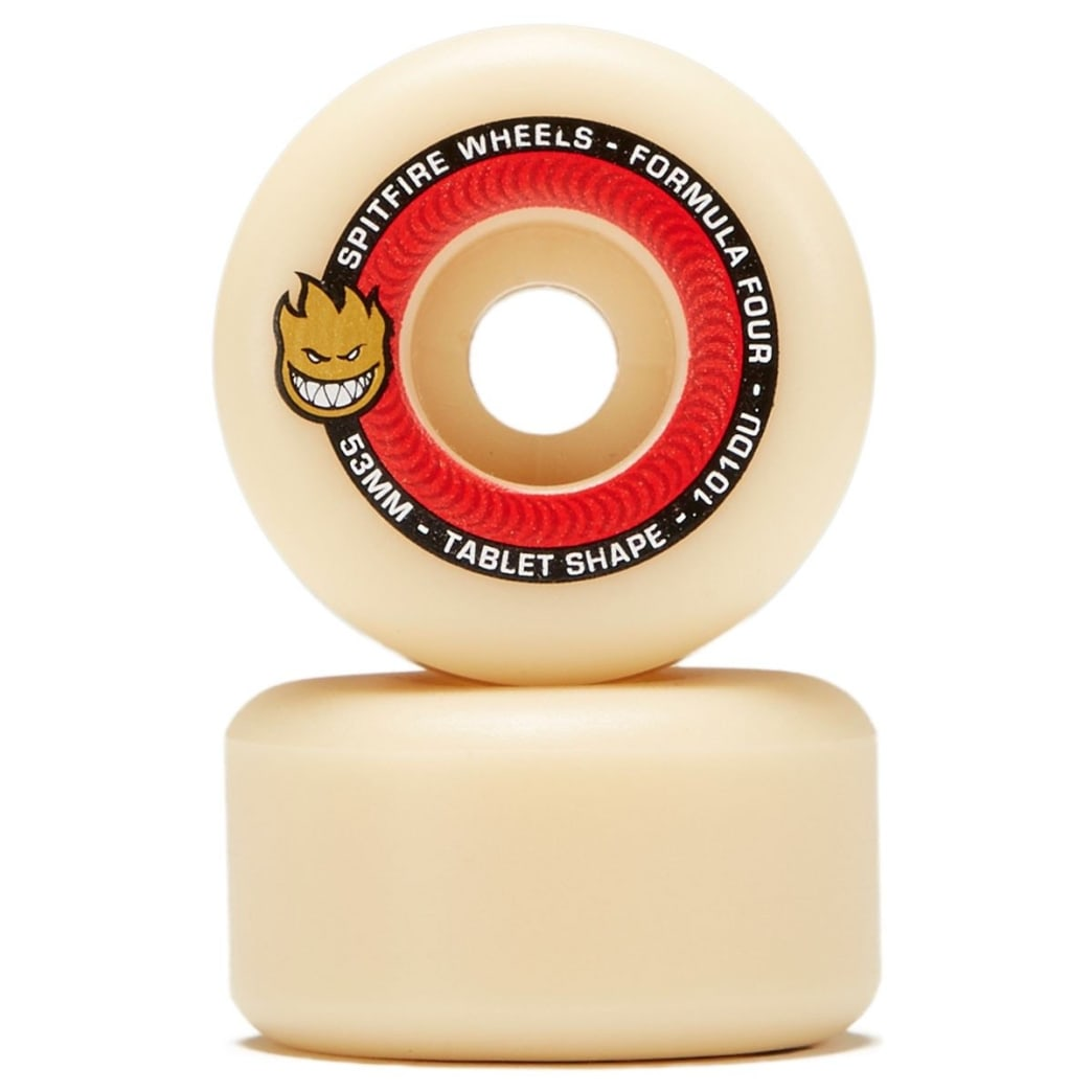 Spitfire - F4 101 Tablets Natural 53mm Wheels | Wheels by Spitfire Wheels 1