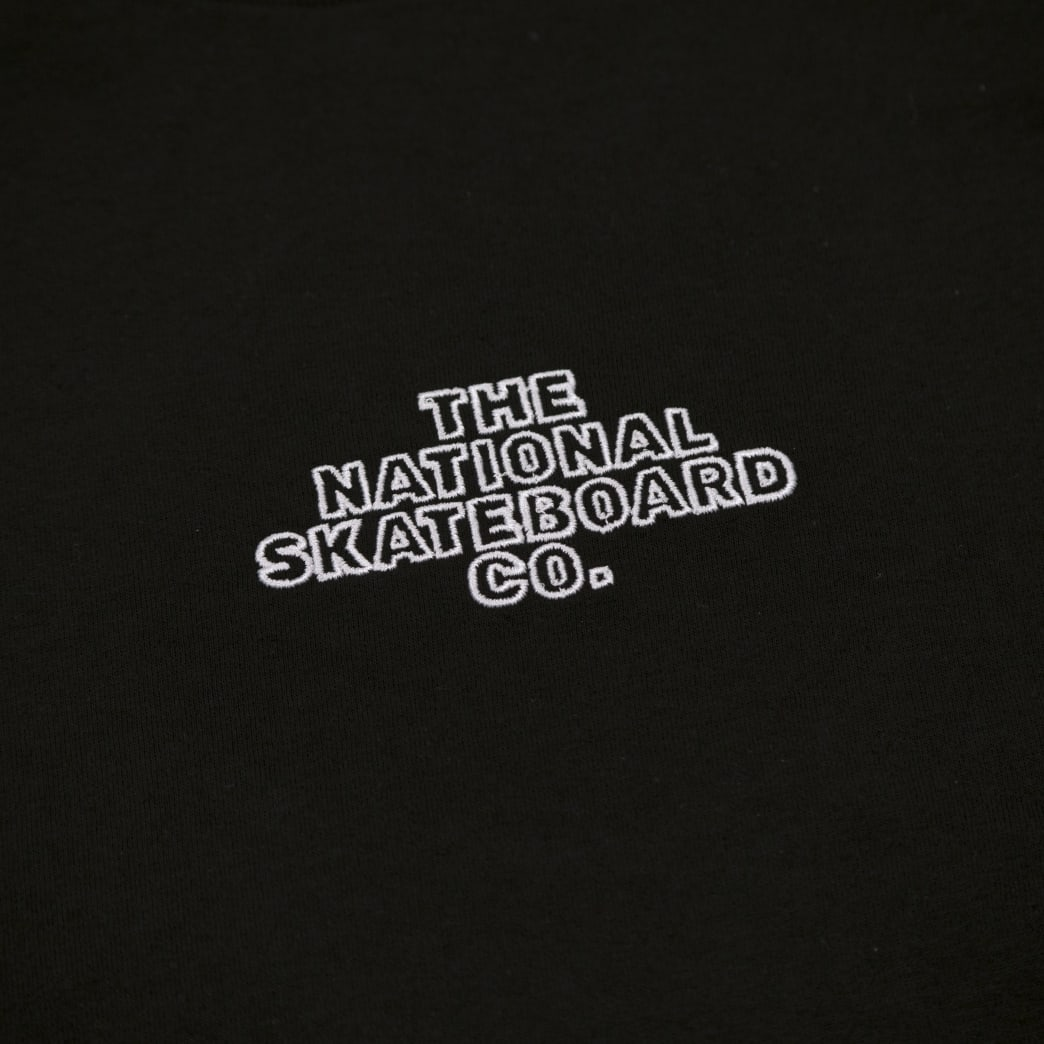 The National Skateboard Co. Classic Logo T-Shirt - Black | T-Shirt by The National Skateboard Co. 3