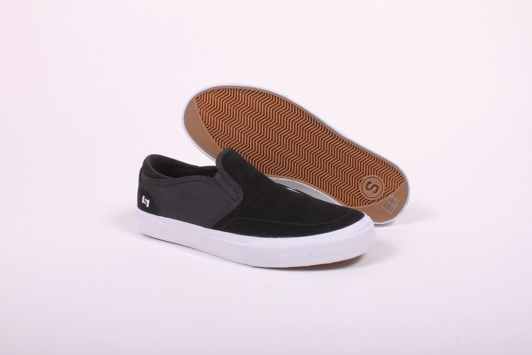 State Keys Black/White Suede | Shoes by State Footwear 1