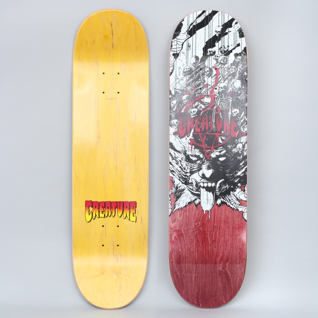 Creature 8.375 Purgatory Skateboard Deck | Deck by Creature Skateboards 1