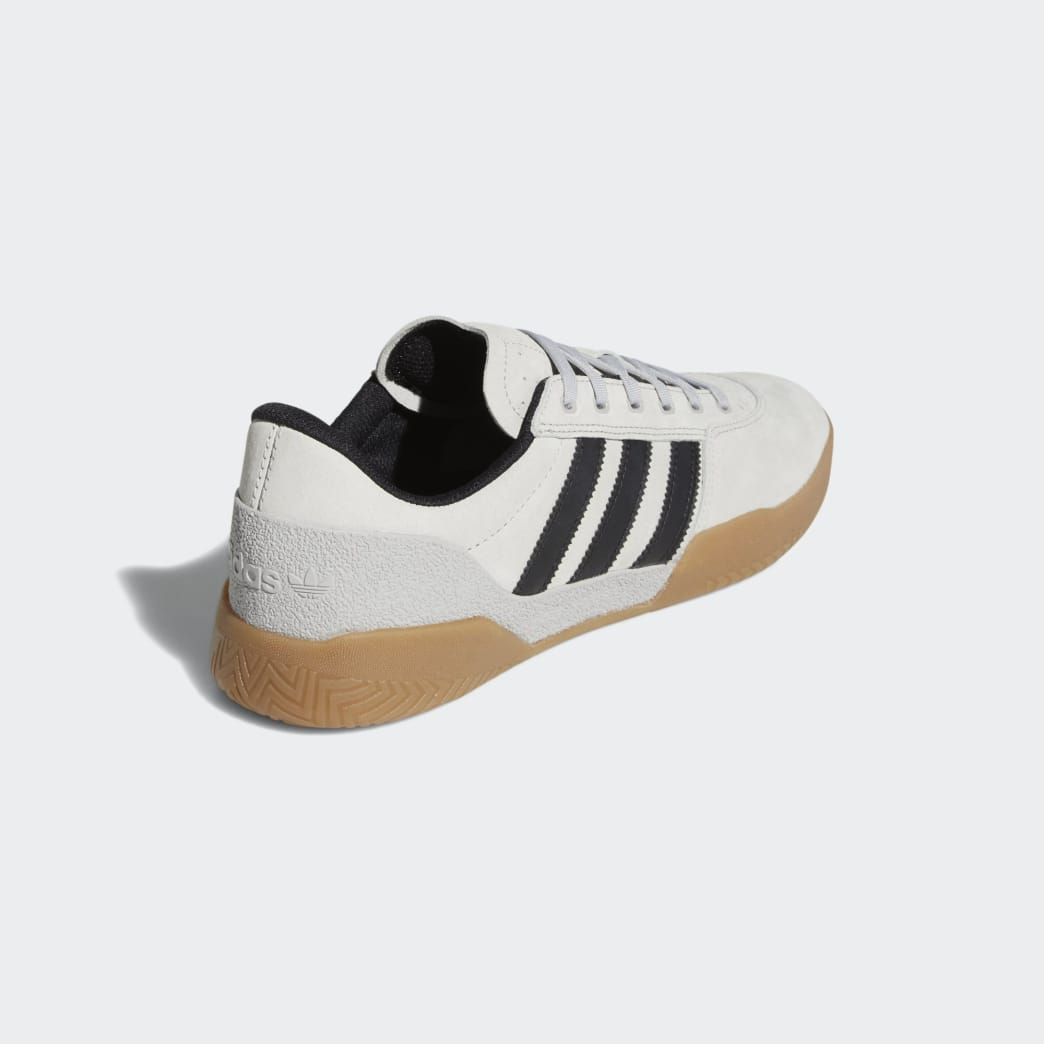 Adidas City Cup Shoes - Grey 2/Core Black/Gum 4 | Shoes by adidas Skateboarding 3