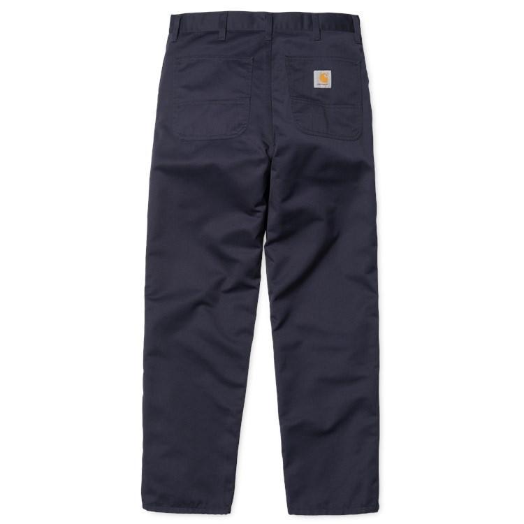 Carhartt WIP Simple Pant - Dark Navy Rinsed | Trousers by Carhartt WIP 1