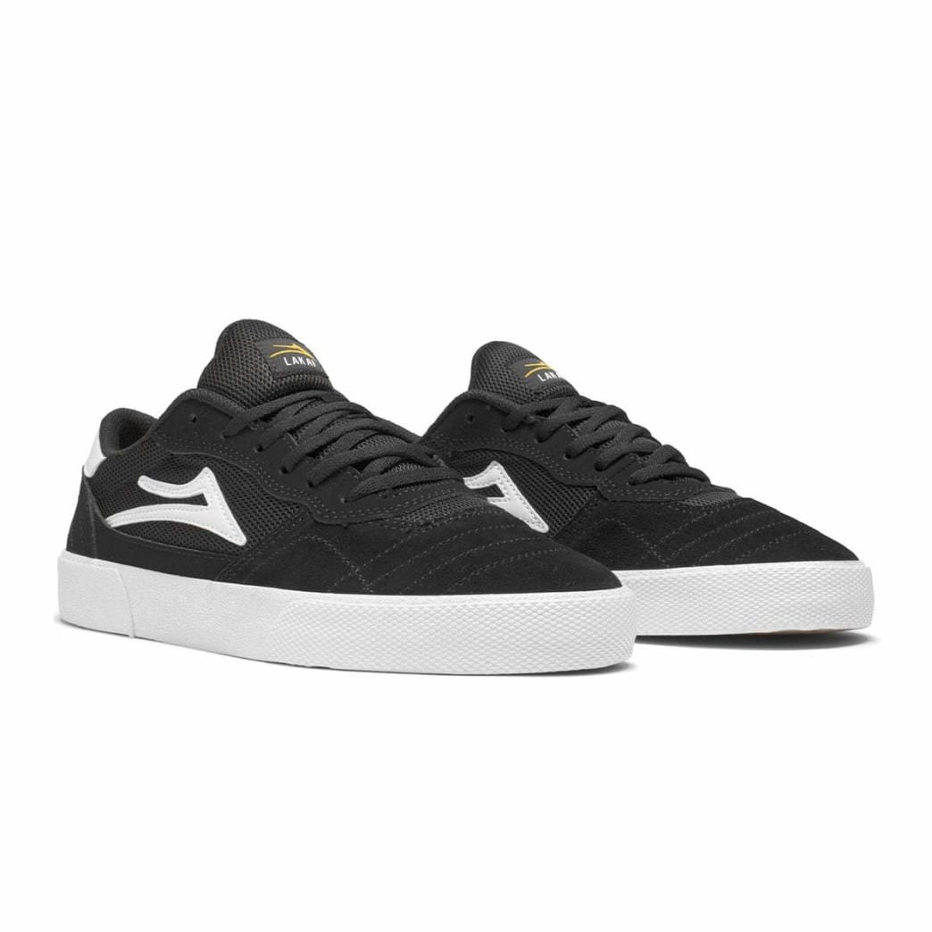Lakai Cambridge Suede Skate Shoe - Black / White | Shoes by Lakai 2