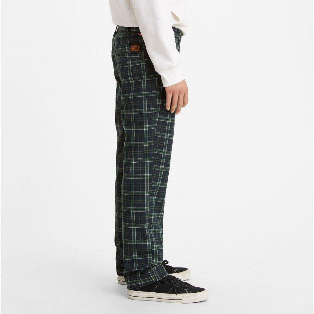 Levi's Skateboarding Collection Skate Work Pant Alexandrite Plaid | Chinos by Levi's Skateboarding 2