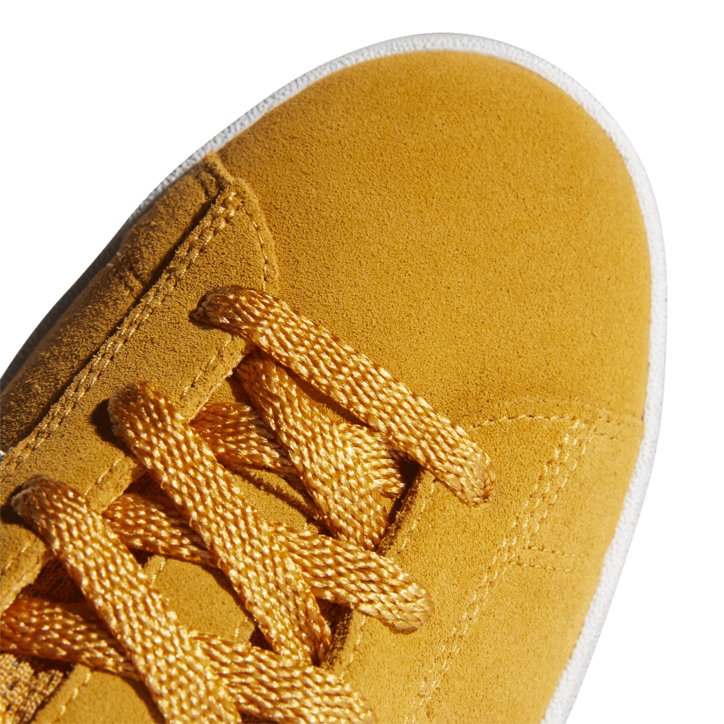 adidas Campus ADV Skate Shoes - Tactile Yellow / Cloud White / Gold Metallic | Shoes by adidas Skateboarding 7