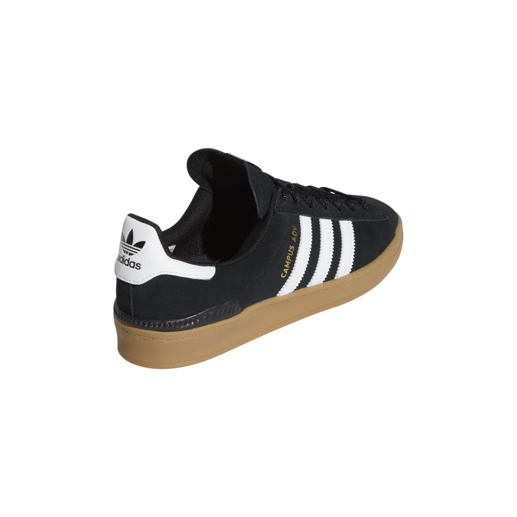 Adidas Campus ADV - Core Black / White / Gum | Shoes by adidas Skateboarding 7