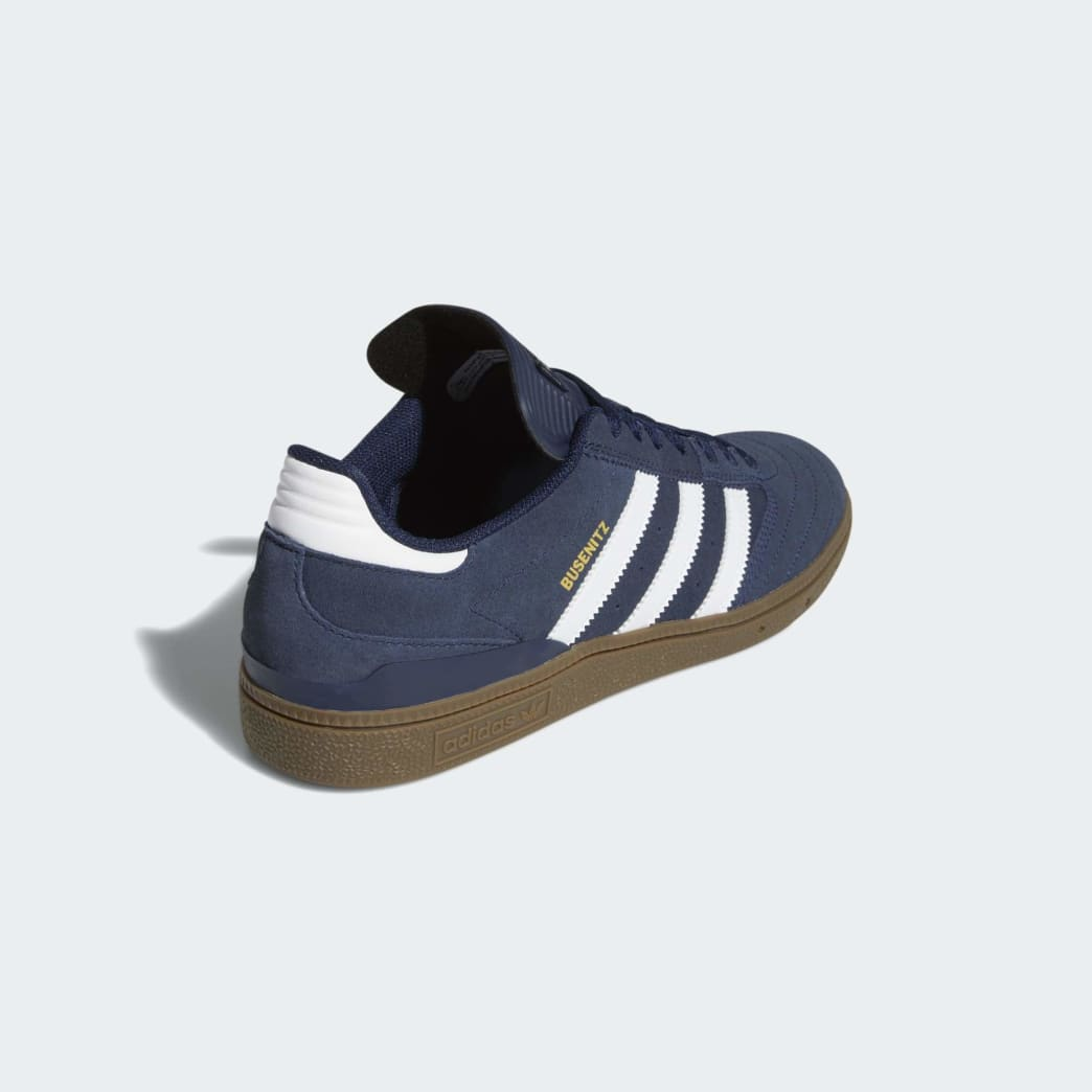 Adidas Busenitz Shoes - Collegiate Navy/Cloud White/Gum 5 | Shoes by adidas Skateboarding 5