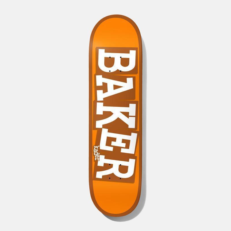 Baker Skateboards Theotis Ribbon Yellow Skateboard Deck - 8.38 | Deck by Baker Skateboards 1