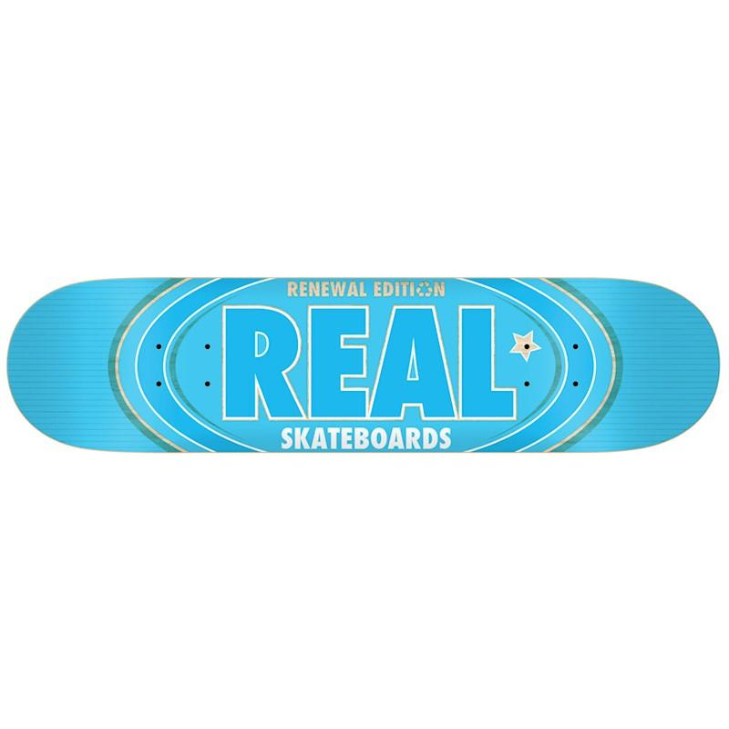 Real Oval Remix Blue - 7.3 | Deck by Real Skateboards 1