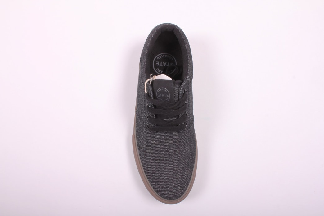State Elgin Black/Gum Denim | Shoes by State Footwear 2