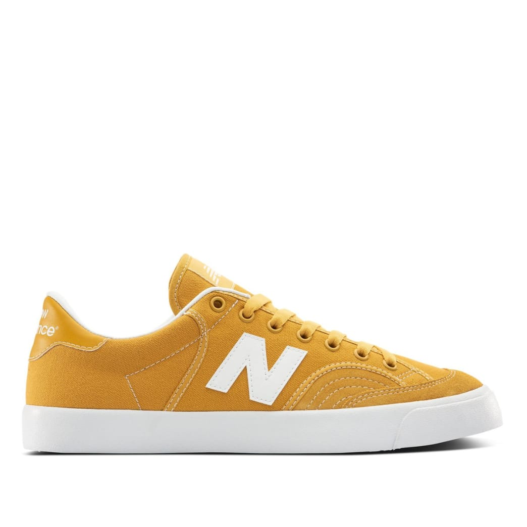 New Balance Numeric 212 Skate Shoes - Yellow / White | Shoes by New Balance 1
