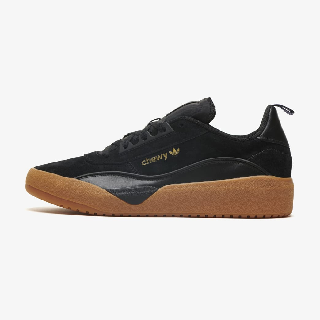 adidas Liberty Cup Chewy Cannon Skateboarding Shoe - Core Black/Gold Metallic/Gum 2 | Shoes by adidas Skateboarding 1