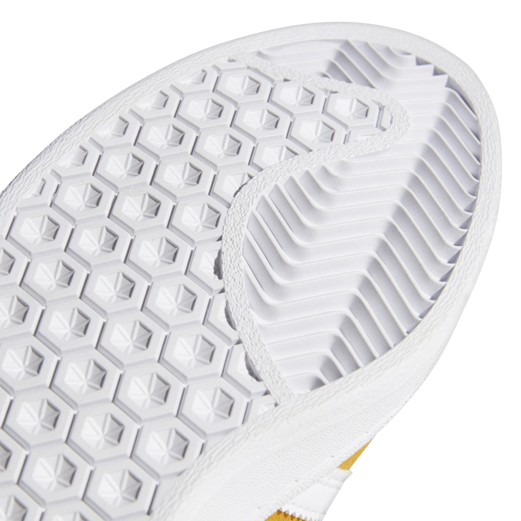 adidas Campus ADV Skate Shoes - Tactile Yellow / Cloud White / Gold Metallic | Shoes by adidas Skateboarding 9