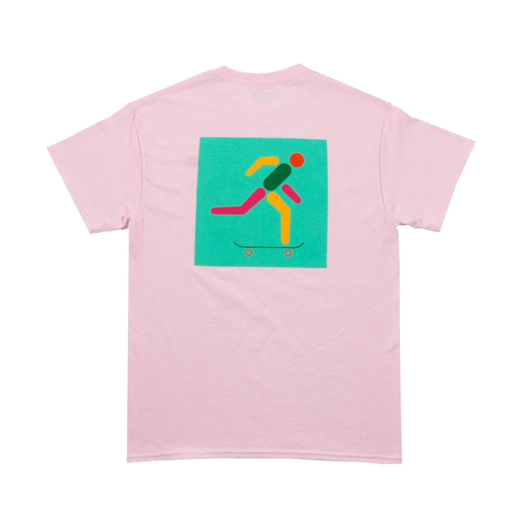 Lost Art - Icon Tee Light Pink | T-Shirt by Lost Art 2
