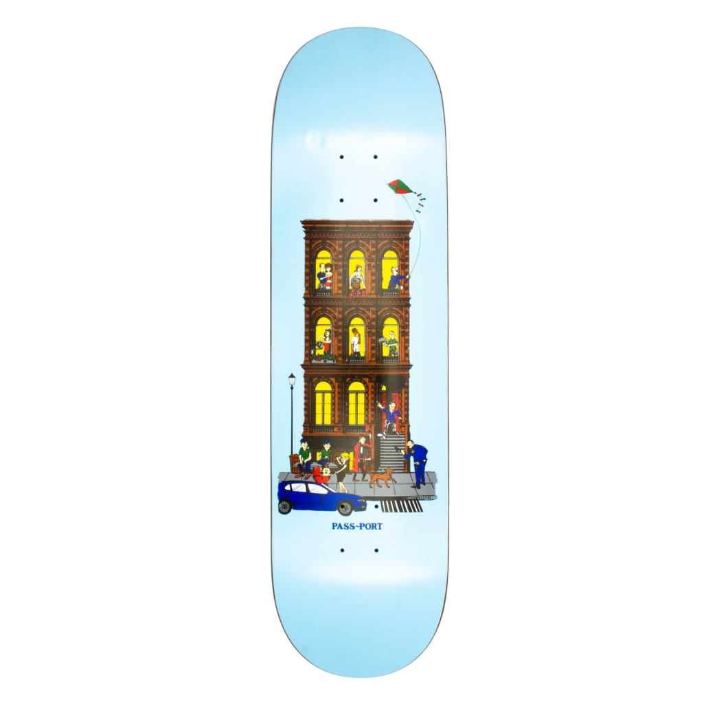 """Passport Day and Night Deck - 8.6""""   Deck by Pass~Port Skateboards 1"""