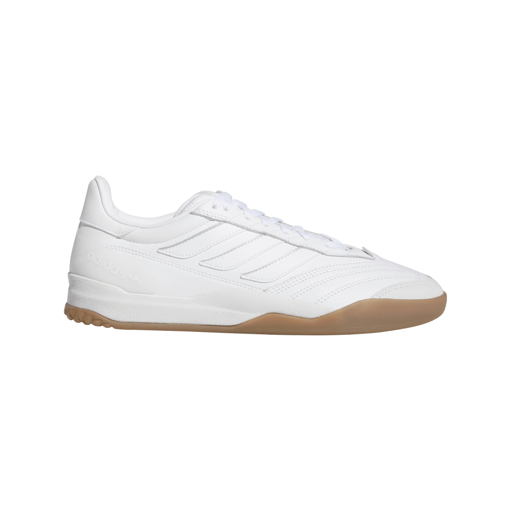 adidas Copa Nationale Skate Shoe - FTWR White / Silver Met / Gum | Shoes by adidas Skateboarding 1
