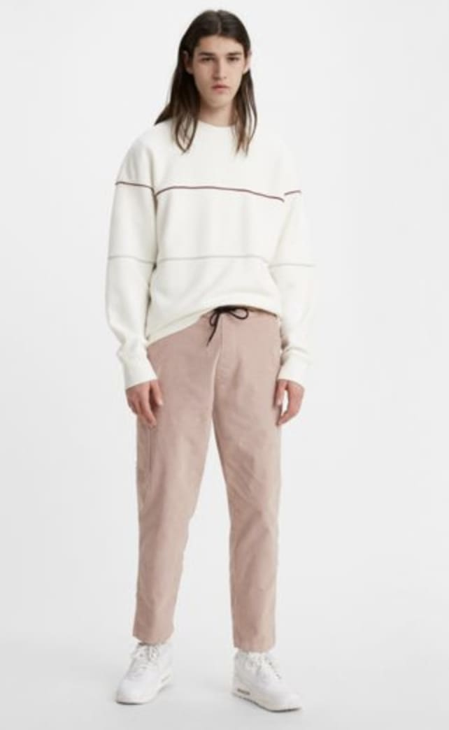 Levi's Pull On Taper Corduroy Pant II - Fawn (Blush) | Chinos by Levi's Skateboarding 2