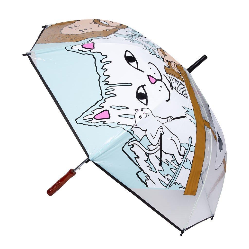 Rip N Dip Beautiful Mountain Umbrella - Clear | Giftables by Ripndip 2