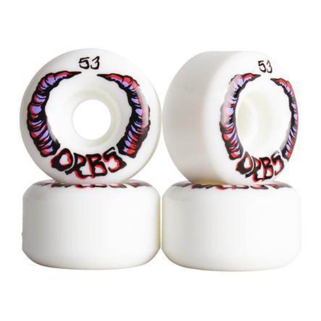 Orbs - Apparitions - White | Wheels by Welcome Skateboards 1