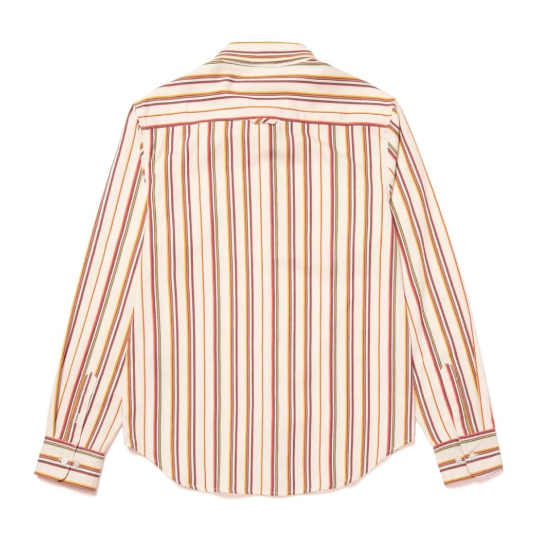 Huf Taylor Work Woven Long Sleeve - White | Shirt by HUF 2