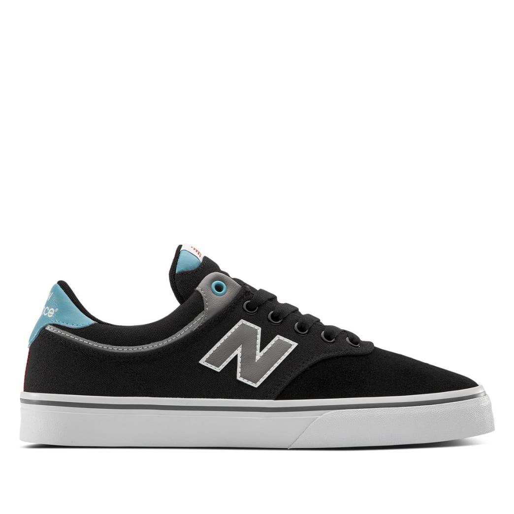 New Balance Numeric 255 Skate Shoe - Black / Blue | Shoes by New Balance 1