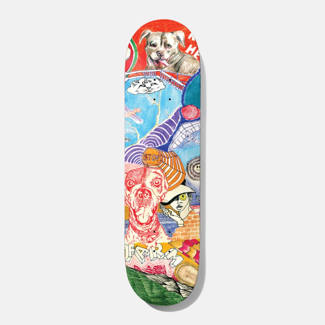 Baker Skateboards Riley Hawk Thoughts Skateboard Deck - 8.25 | Deck by Baker Skateboards 1