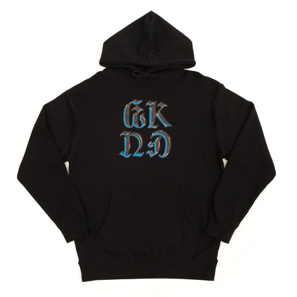 WKND Chrome On Hoodie - Black | Hoodie by WKND 1