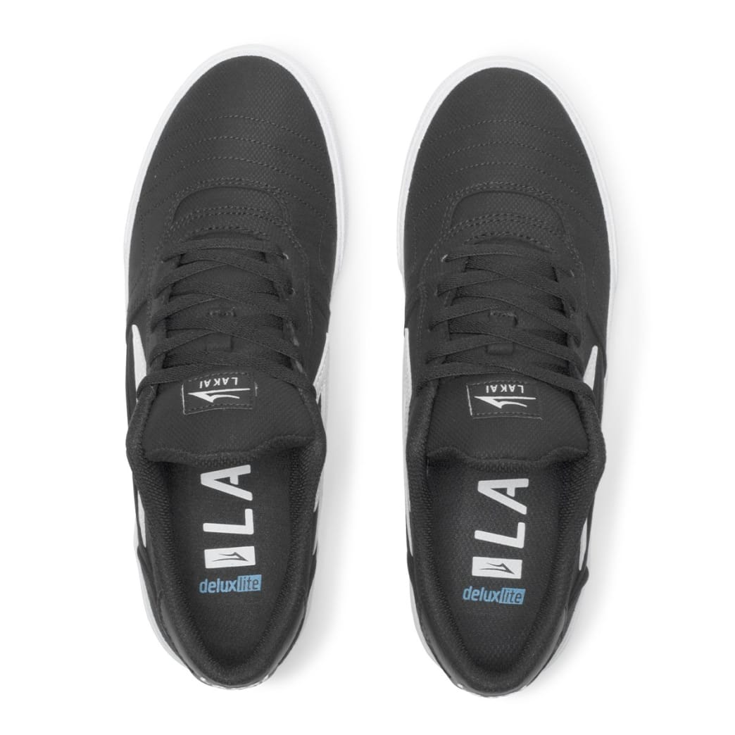 Lakai Cabridge Skate Shoes - Black Textile | Shoes by Lakai 3