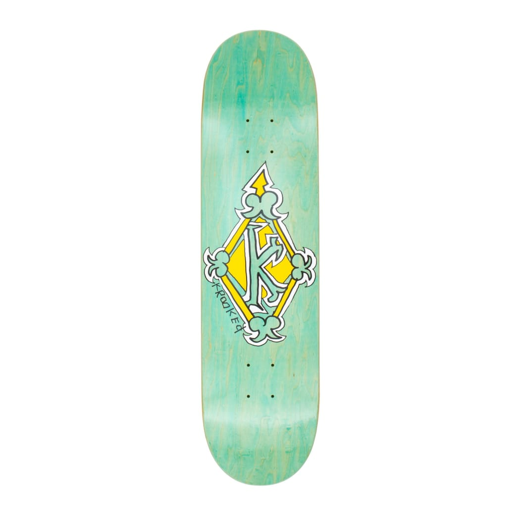 "Krooked Regal Deck - 8.06""   Deck by Krooked Skateboards 1"
