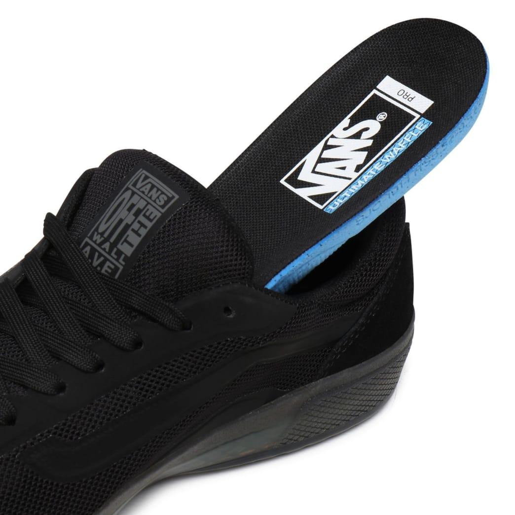 Vans AVE Pro Skate Shoes - Black / Smoke | Shoes by Vans 8