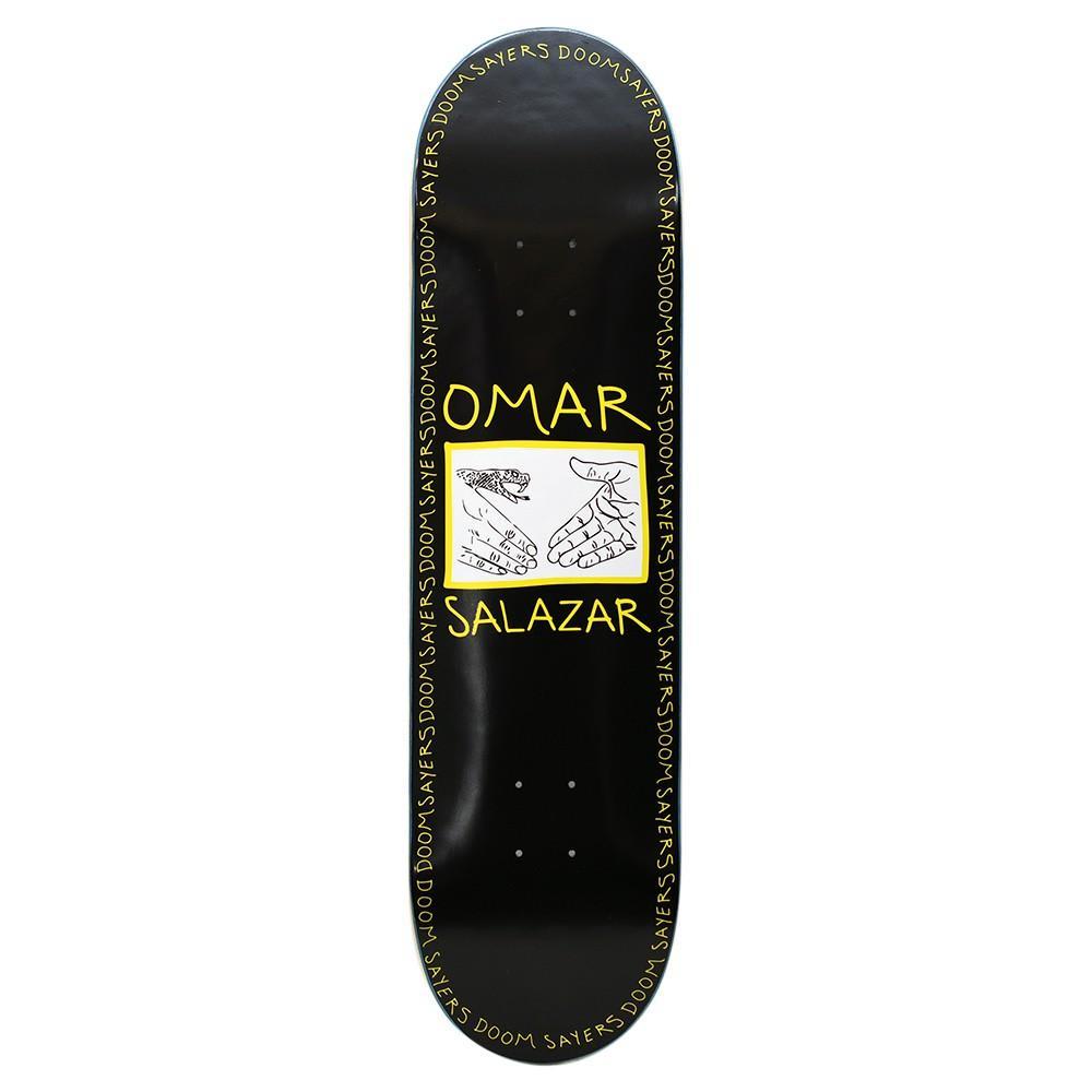 "Doom Sayers - 8.4"" Omar Snake Shake Shovel Nose Deck - Black | Deck by Doom Sayers Club 1"