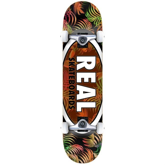 "Real Tropic Ovals II 7.75"" Complete Skateboard 
