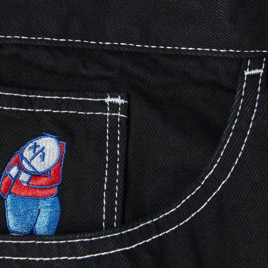 Polar Skate Co Big Boy Jeans - Black | Jeans by Polar Skate Co 4