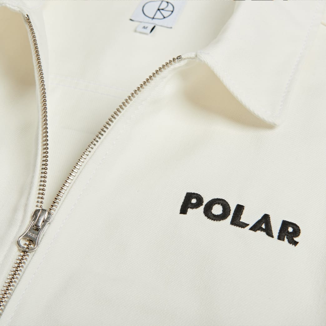 Polar Skate Co - Notes Denim Jacket - Ivory | Jacket by Polar Skate Co 4
