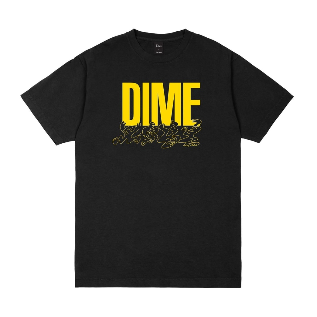 Dime Support T-Shirt - Black | T-Shirt by Dime MTL 1
