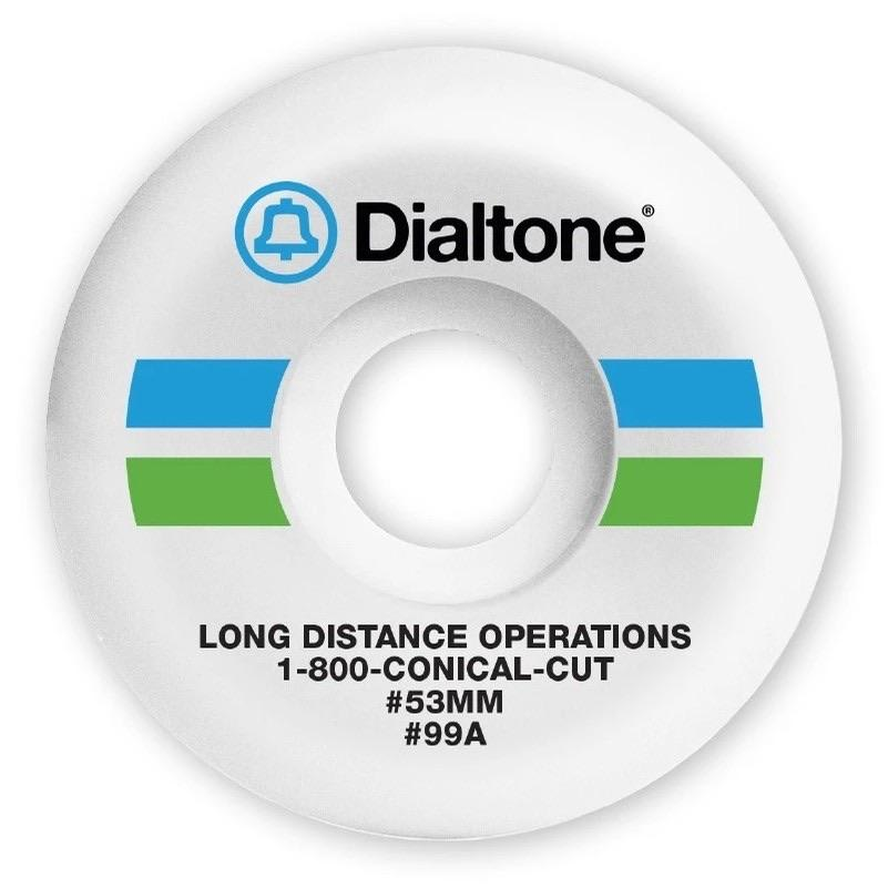 Dial Tone Bell South Conical 99A 53mm Wheels | Wheels by Dial Tone Wheel Co. 1