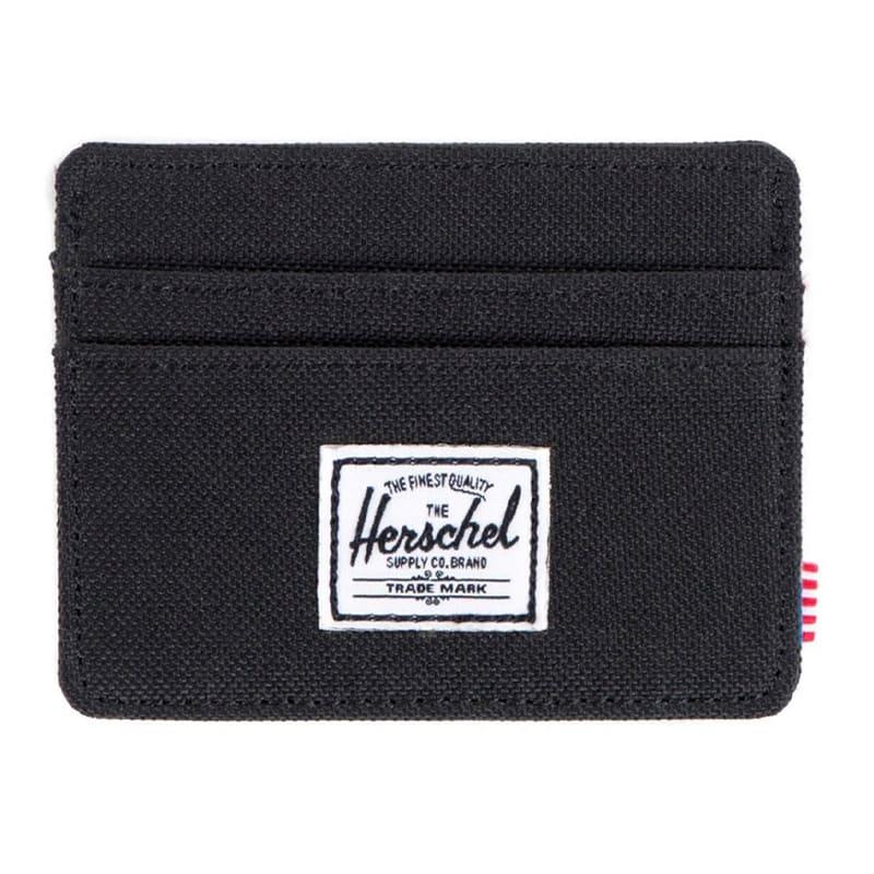 Herschel Supply Co. Charlie Wallet - Black   Wallet by Herschel Supply Co. 1