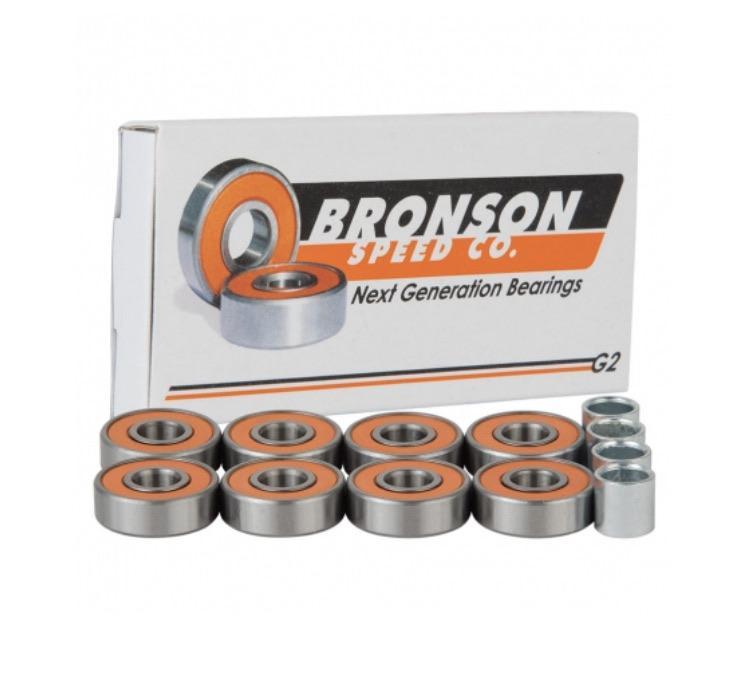 Bronson Speed Co. G2 Skateboard Bearings | Bearings by Bronson Speed Co 1