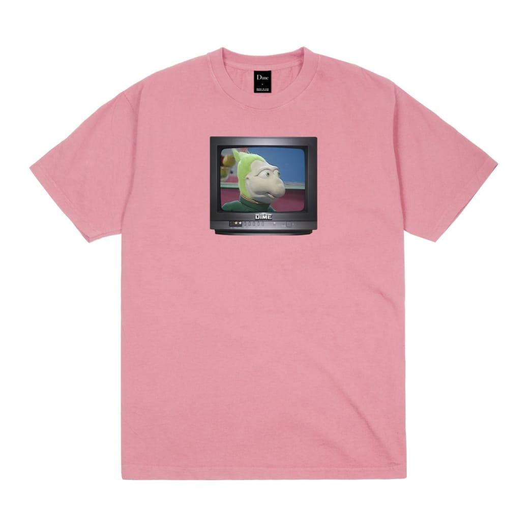 Dime Z99944X T-shirt - Coral | T-Shirt by Dime MTL 1