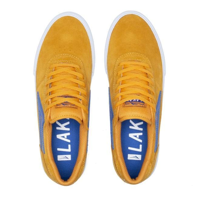 Lakai Manchester Suede Skate Shoes - Mandarin | Shoes by Lakai 3