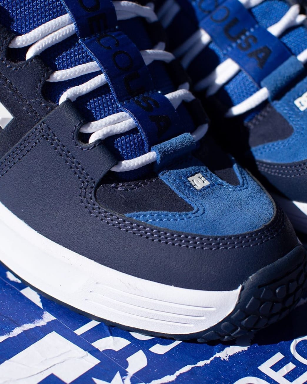 DC Shoes Lynx OG Skateboarding Shoe - Navy - Limited Edition | Shoes by DC Shoes 8