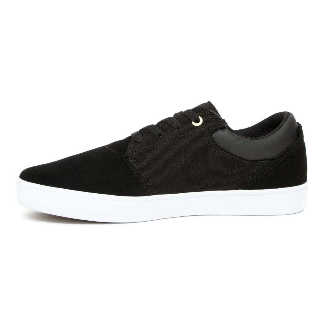 Emerica Alcove CC Skate Shoes - Black / White / Gold | Shoes by Emerica 4