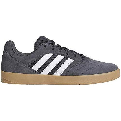Adidas Suciu Adv II (Grey/White/Gum)   Shoes by adidas Skateboarding 1