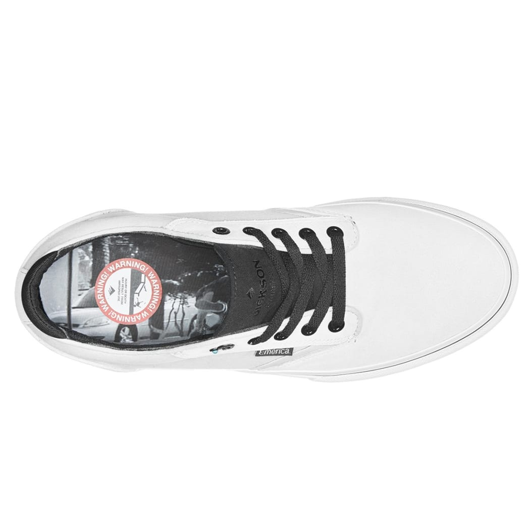 Emerica Dickson - Bone White | Shoes by Emerica 4